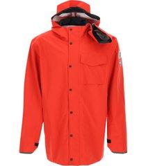 y/project canada goose hooded rain jacket