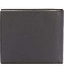ps paul smith men's mini printed billfold wallet - black