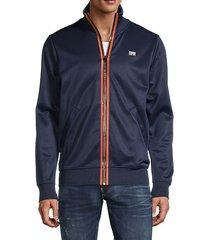 logo zip-up jacket