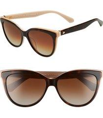women's kate spade new york daeshas 56mm cat eye sunglasses -