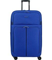 maleta de viaje mediana azul speed - explora