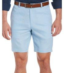 """cubavera men's flat front 9"""" shorts"""