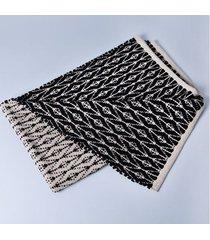 tapete bolzano cor: preto - tamanho: único