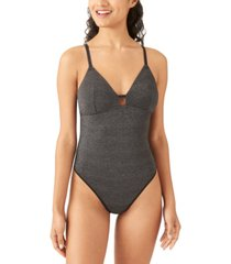 b.tempt'd women's future foundation lurex metallic bodysuit