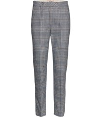 drew chester pant pantalon met rechte pijpen grijs mos mosh