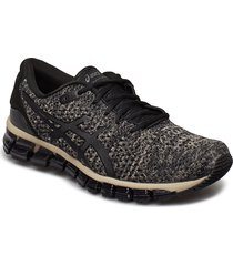 gel-quantum 360 knit 2 shoes sport shoes running shoes svart asics