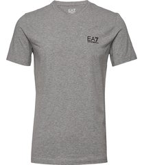 t-shirt t-shirts short-sleeved grå ea7
