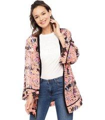 kimono reef multicolor - calce oversize