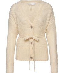 kerstin gebreide trui cardigan geel fall winter spring summer