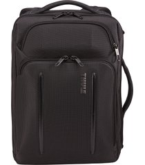 men's thule crossover 2 convertible laptop backpack - black