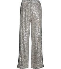 skyler trousers wijde broek zilver guess jeans