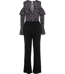 jumpsuit met animalprint