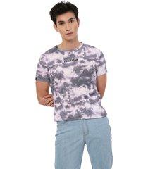 camiseta morado dye manpotsherd reaction