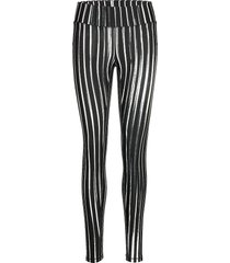contour tights leggings svart casall