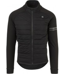 agu fietsjack men deep winter thermo essential heated black-m