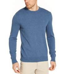 calvin klein men's solid liquid sweater