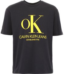 calvin klein t-shirt with ok logo