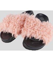 zapatillas de descanso fashion rosa baziani