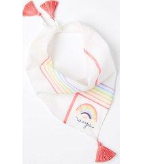 loft love all ways pride triangle bandana