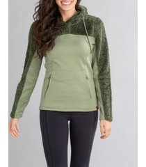 astrid women's hooded pullover sweater