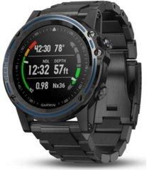 garmin unisex descent mk1 watch-style diver computer gray strap smartwatch 51mm