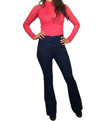 jeans colombiano je6046 azul oscuro angel jeans angel jeans