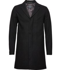 slhbrove wool coat b wollen jas lange jas zwart selected homme