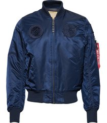 ma-1 vf nasa bomberjack jack blauw alpha industries