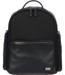 bric's monza medium backpack in black/black at nordstrom