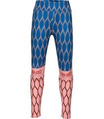aktion2-22 legging blauw kenzo
