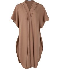camel hooded cape
