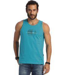 camiseta vlcs regata gola redonda azul - azul marinho - masculino - dafiti