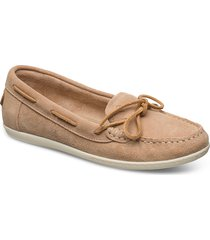 pinkhill moccasin loafers låga skor beige gant