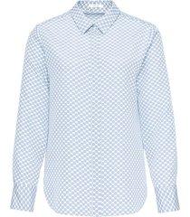 overhemd fastine blauw