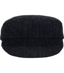 isabel marant evie hats in black wool