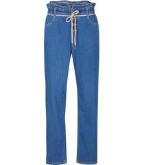 jeans baggy con cinta comoda (blu) - bpc bonprix collection