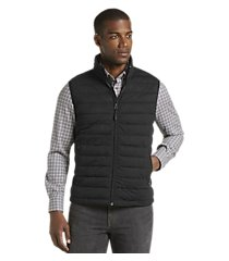traveler collection tailored fit quilted vest - big & tall