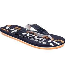 classic scuba flip flop shoes summer shoes flip flops blå superdry
