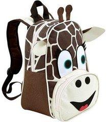 mochila infantil mumagi passeio girafa rafinha unissex