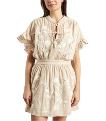 kauri embroidered dress