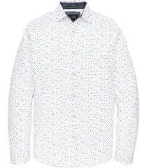 vanguard overhemd wit motief button down