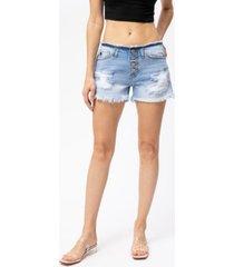kancan women's hazel low rise shorts