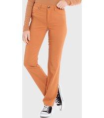 pantalón wados basico camel - calce ajustado