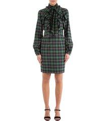 women's knee length dress long sleeve