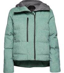 w beloved down jacket gevoerd jack groen helly hansen