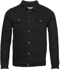 kash denim jacket jeansjacka denimjacka svart denim project