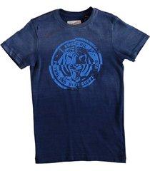petrol stevig blauw t-shirt