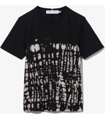 dotted tie dye t-shirt