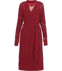 uma wang virgin wool knitted cardigan