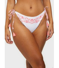 river island embroidered tie side brief trosa
